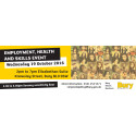 Huge range of opportunities at Employment, Health and Skills event