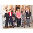 Pensionärer och trotjänare tackades i residenset