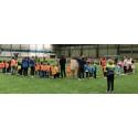 Bevegelsesglede for 130 skolespirer