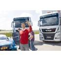 Edoardo Martaro, DTM kører hos Audi Sport er glad for de nye lastbiler.