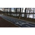 Arbetet med snabbcykelväg fortsätter