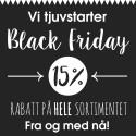 Black Friday starter allerede idag!