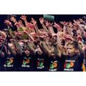 1600 barn sjunger för full hals på Stora Scenen