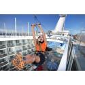 Lehdistötiedote: Välimeren risteilyt maailman suurimmalla Allure of the Seas -risteilyaluksella
