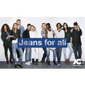 JC Jeans Company lyfter fram starka personligheter i kampanjen Jeans for all