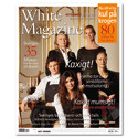 Peter Hansson, Founder and Creative director of GH, inc, has proudly designed White Guide 2011 and 2012 and now – White Magazine