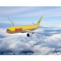 Take-off for strategi 2025-mål: DHL Express oppgraderer sin flyflåte med seks nye Boeing 777 i år