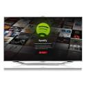 Miljoner låtar via ny app: Spotify flyttar in i Samsungs smart-tv