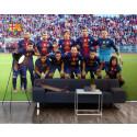 FC Barcelona med Messi & Co nu som fototapet!