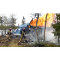 Hyttefolket slurver med brannsikkerheten