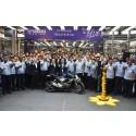 Yamaha Motor Produces 10 Millionth Motorcycle in India