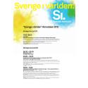Fullständigt program: Sverige i världen