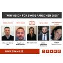 """Virtuella glasögon, drönare och nya maskiner blev vinnande bidrag i Cramos tävling """"Min Vision för byggbranschen 2030"""""""