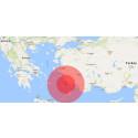 Earthquake strikes in the Aegean Sea between Greece and Turkey