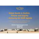 Global hälsa i en tid av konflikt – konferens 30 maj