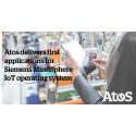"""Atos leverer de første applikationer til Siemens' IoT operativsystem """"MindSphere"""""""