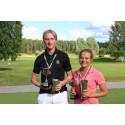 Åkte 180 mil –för att bli SM-mästare i golf