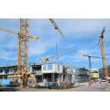 Bygglovsrekord i Malmö: 3700 bostäder under 2016