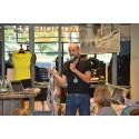 Invigning av re:textiles lokaler i Fashion Gallery den 7 juni