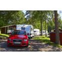 Nära 16 miljoner gästnätter på Sveriges campingplatser 2017