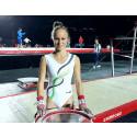 Comeback på VM för Jonna Adlerteg – men marginalerna inte på hennes sida