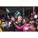 Succé för storbildvisningarna på Ullevi – ny match på tisdag