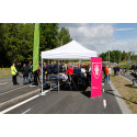 Växthusvägens förlängning med ny gång- och cykelbana invigd