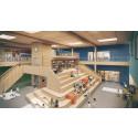 GBJ Bygg bygger massivträskola med sim- och idrottshall i Norge