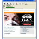Antalet spam angående botemedel för svininfluensan ökar