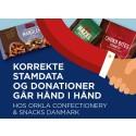 Korrekte stamdata og donationer går hånd i hånd hos Orkla Confectionery & Snacks Danmark