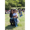Mängder av besökare på Barnens Dag och nationaldagsfirande