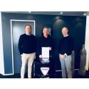 Dinitrol Center Ishøj scorer 0 fejl i hele 2017 af Teknologisk Institut og får Dinitrol guldnål efter 20 års samarbejde