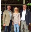 Johanna fick stipendium av Rotary för ett års studier i USA
