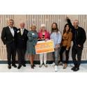 Från prisutdelningen Årets MusikBoj - Per Rosvall, Loa Falkman, Claire Rosvall, Ingrid Hammarlund, Max Martin, Nikki Amini och Martin Stenmark