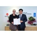 Sydkorea och Sverige samarbetar om fjärrvärme
