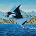 Ballast Point Manta Ray - artwork