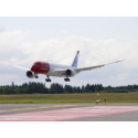 Norwegians Dreamliner landet på Gardermoen i formiddag