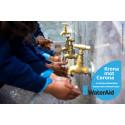 """WaterAid lanserar """"Krona mot Corona"""" – en kampanj där företag och kunder kan engagera sig i kampen mot coronaviruset"""