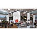 Artist impression of DFS L&T duplex store at T3