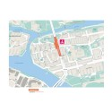 Karta nya cykelbanorna Långholmsgatan
