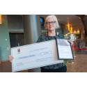 Eva Thurfjell vann Pedagogiskt pris 2017 i kategorin förskola