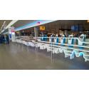 KLM Premium check-in Sky Priority at SPL