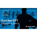 Net Insight announces latest version of Sye, true Live OTT streaming solution, at IBC 2017