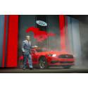 Ford lanserer prisene på nye Mustang.