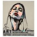 Vernissage för utställningen ART av Emma Tingård