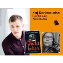 Författarbesök från Finland: Kaj Korkea-aho i samtal med Päivi Kotka från Sveriges Radio P4 Örebro