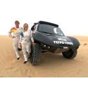 JUST NU: Jutta Kleinschmidt och Tina Thörner deltar i FIA Cross Country Worldcup Rally i Abu Dhabi!