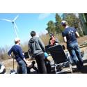 Luleå tekniska universitet gör lyckade fältförsök med autonoma drönare på vindkraftverk