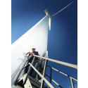 Stormen Urd genererade vindkraftsrekord
