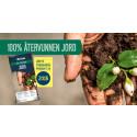 Weibulls 100 % återvunnen jord  är Årets trädgårdsprodukt